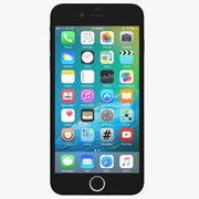 Apple iPhone 7 Plus Jet Black 3d model