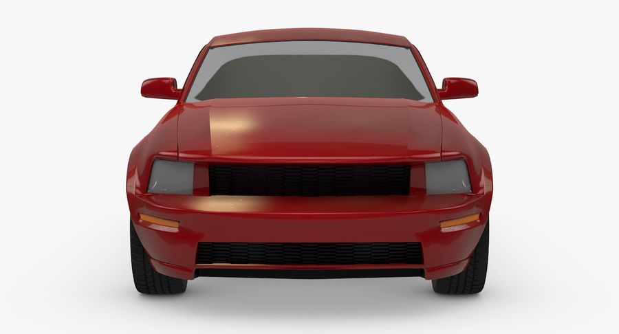 Sports Car royalty-free 3d model - Preview no. 10