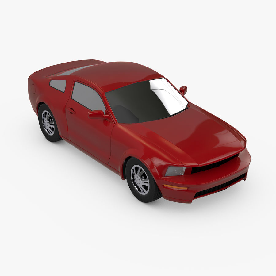 Sports Car royalty-free 3d model - Preview no. 1