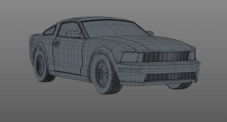 Sports Car royalty-free 3d model - Preview no. 12