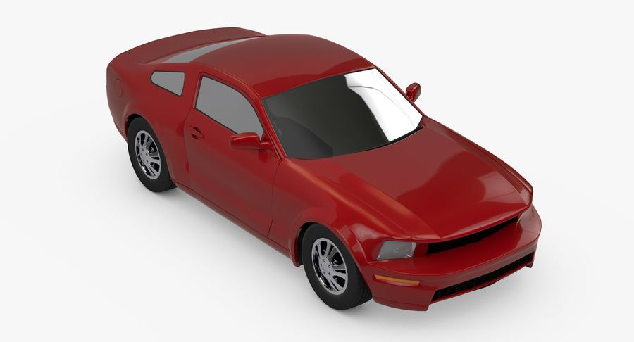 Sports Car royalty-free 3d model - Preview no. 2