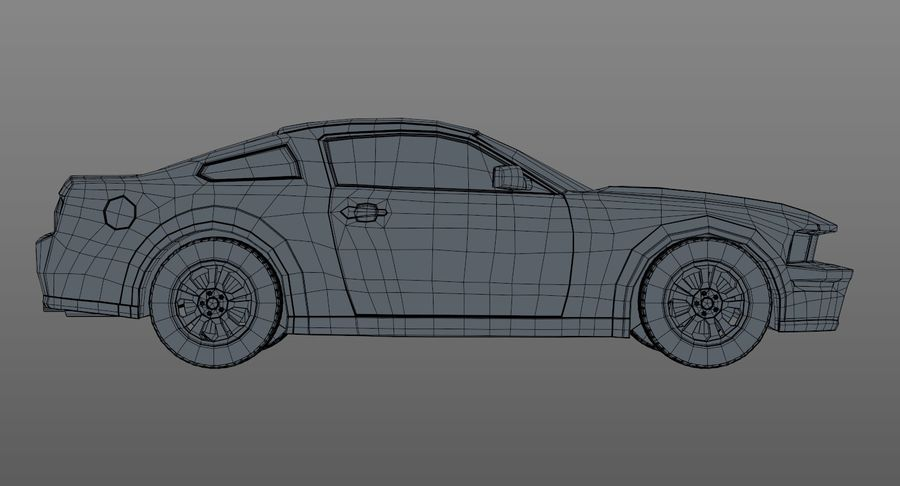 Sports Car royalty-free 3d model - Preview no. 13