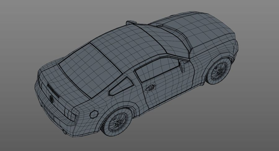 Sports Car royalty-free 3d model - Preview no. 15
