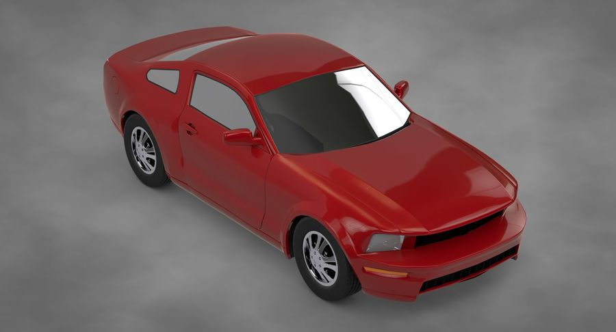 Sports Car royalty-free 3d model - Preview no. 3