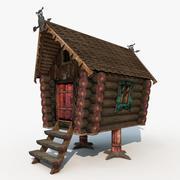 Chata na udkach z kurczaka 3d model