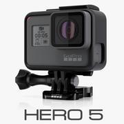 GoPro HERO 5 Black 3d model
