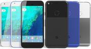Google Pixel todos los colores modelo 3d