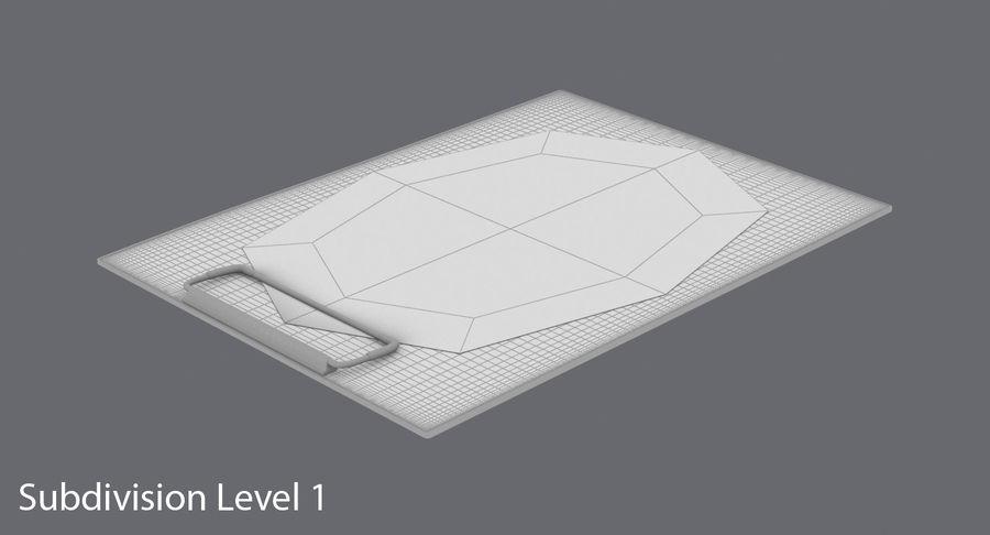 クリップボード royalty-free 3d model - Preview no. 17