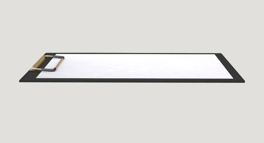 クリップボード royalty-free 3d model - Preview no. 7