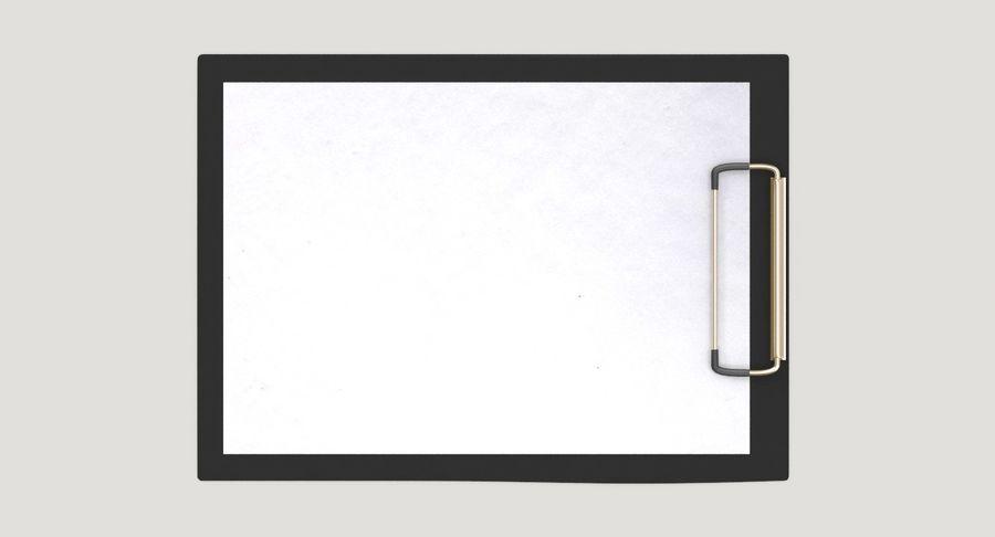 クリップボード royalty-free 3d model - Preview no. 5