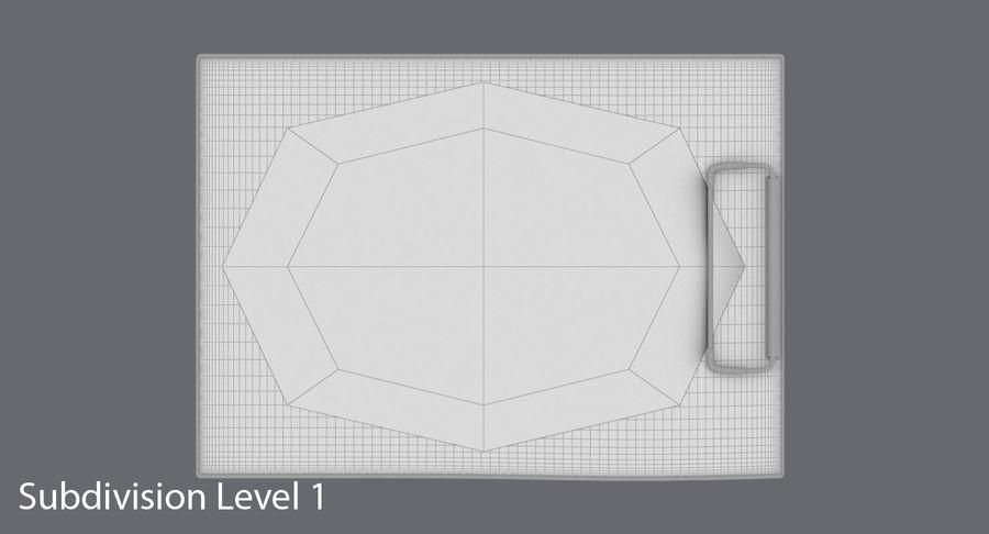 クリップボード royalty-free 3d model - Preview no. 16