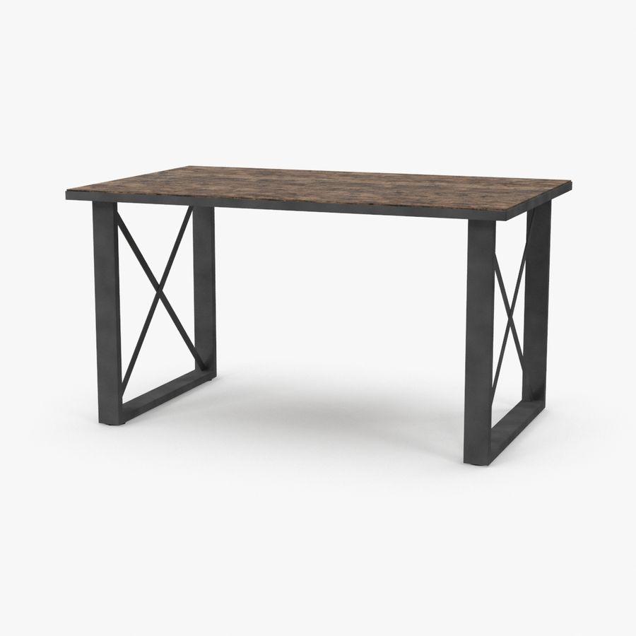 Desk 3 royalty-free 3d model - Preview no. 1
