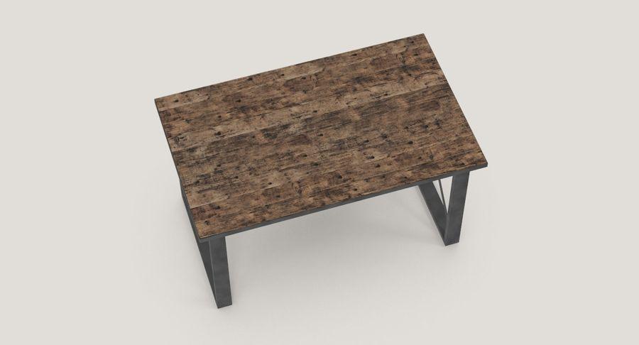 Desk 3 royalty-free 3d model - Preview no. 8