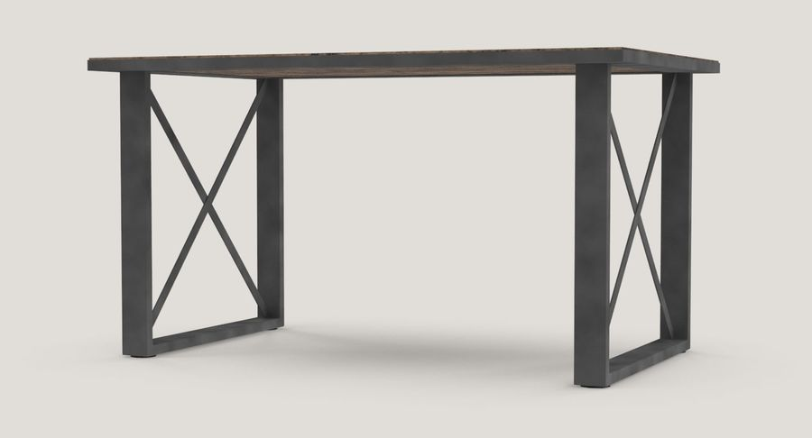 Desk 3 royalty-free 3d model - Preview no. 6