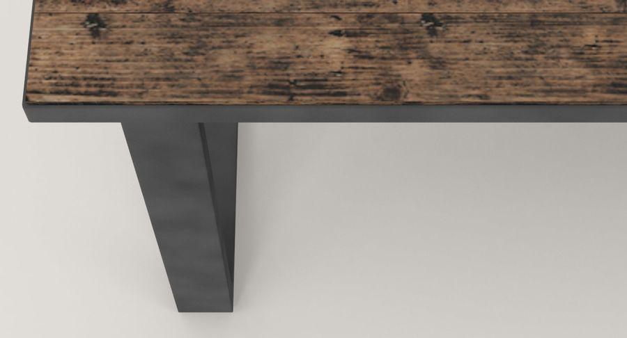 Desk 3 royalty-free 3d model - Preview no. 10