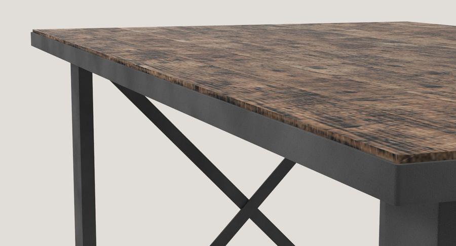 Desk 3 royalty-free 3d model - Preview no. 9