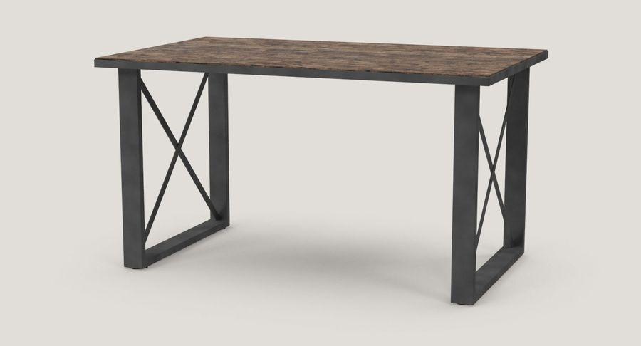 Desk 3 royalty-free 3d model - Preview no. 3