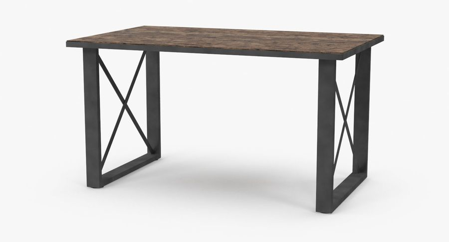 Desk 3 royalty-free 3d model - Preview no. 2
