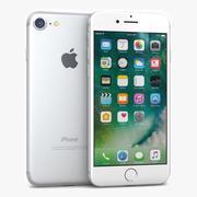 苹果iPhone 7银 3d model