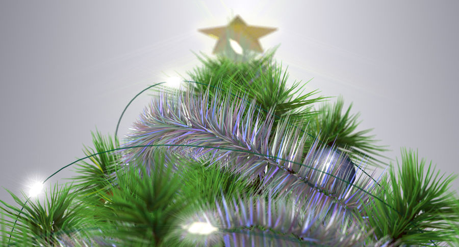 Weihnachtsbaum royalty-free 3d model - Preview no. 11