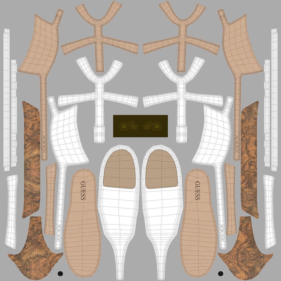 Tacones altos royalty-free modelo 3d - Preview no. 15