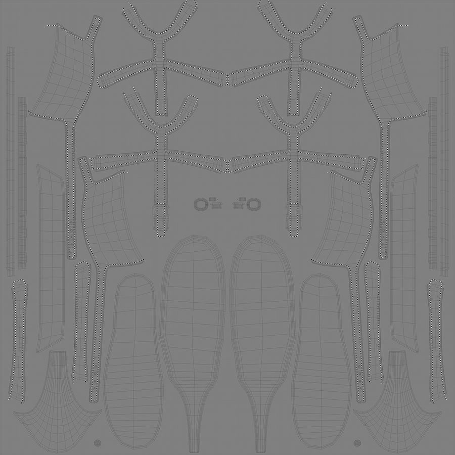 Tacones altos royalty-free modelo 3d - Preview no. 22