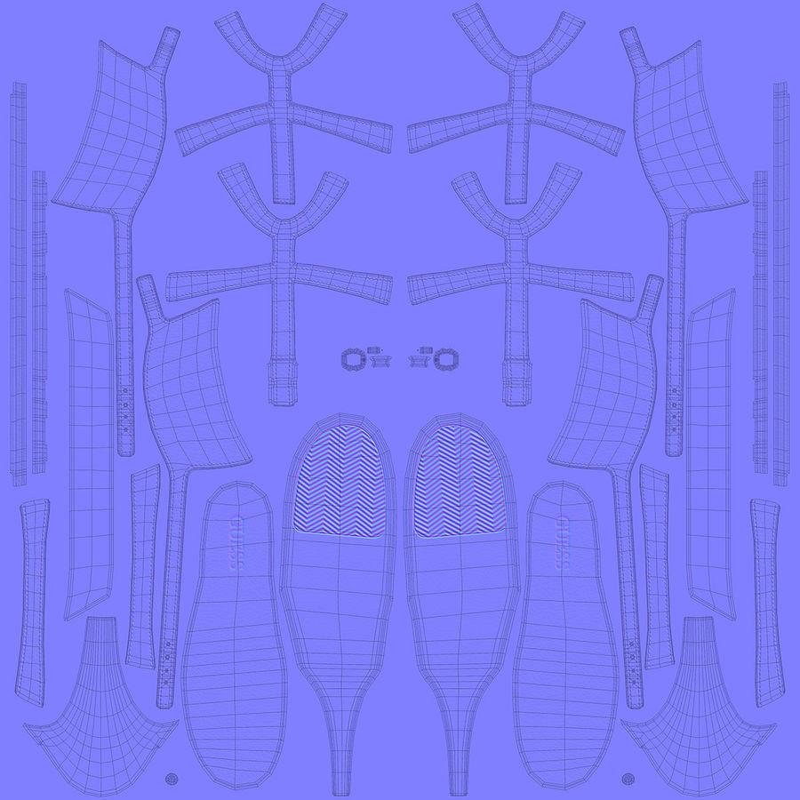 Tacones altos royalty-free modelo 3d - Preview no. 19