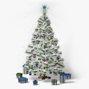 Christmas Tree (snow frost) 3d model