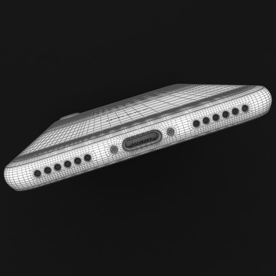 Apple iPhone 7 Gül Altın royalty-free 3d model - Preview no. 40