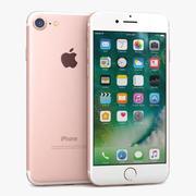苹果iPhone 7玫瑰金 3d model