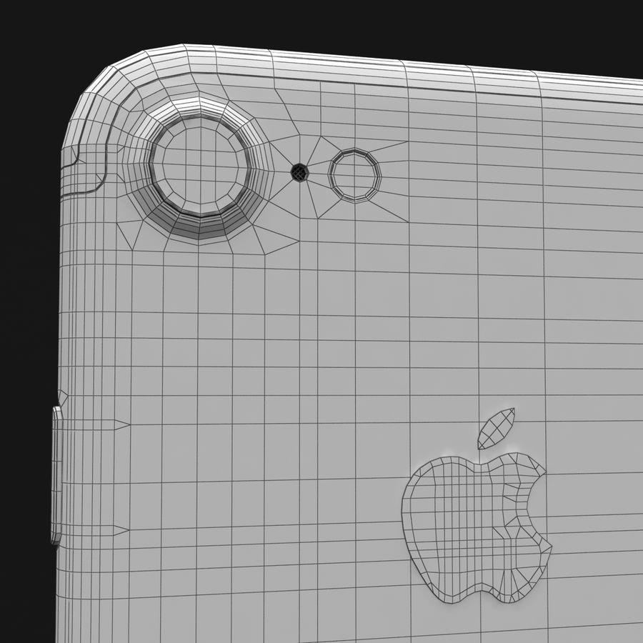 Apple iPhone 7 Gül Altın royalty-free 3d model - Preview no. 37