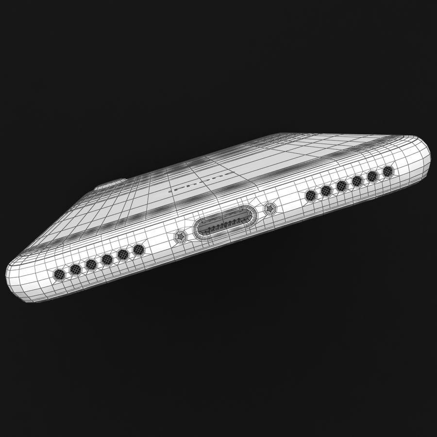 Apple iPhone 7 Gül Altın royalty-free 3d model - Preview no. 41