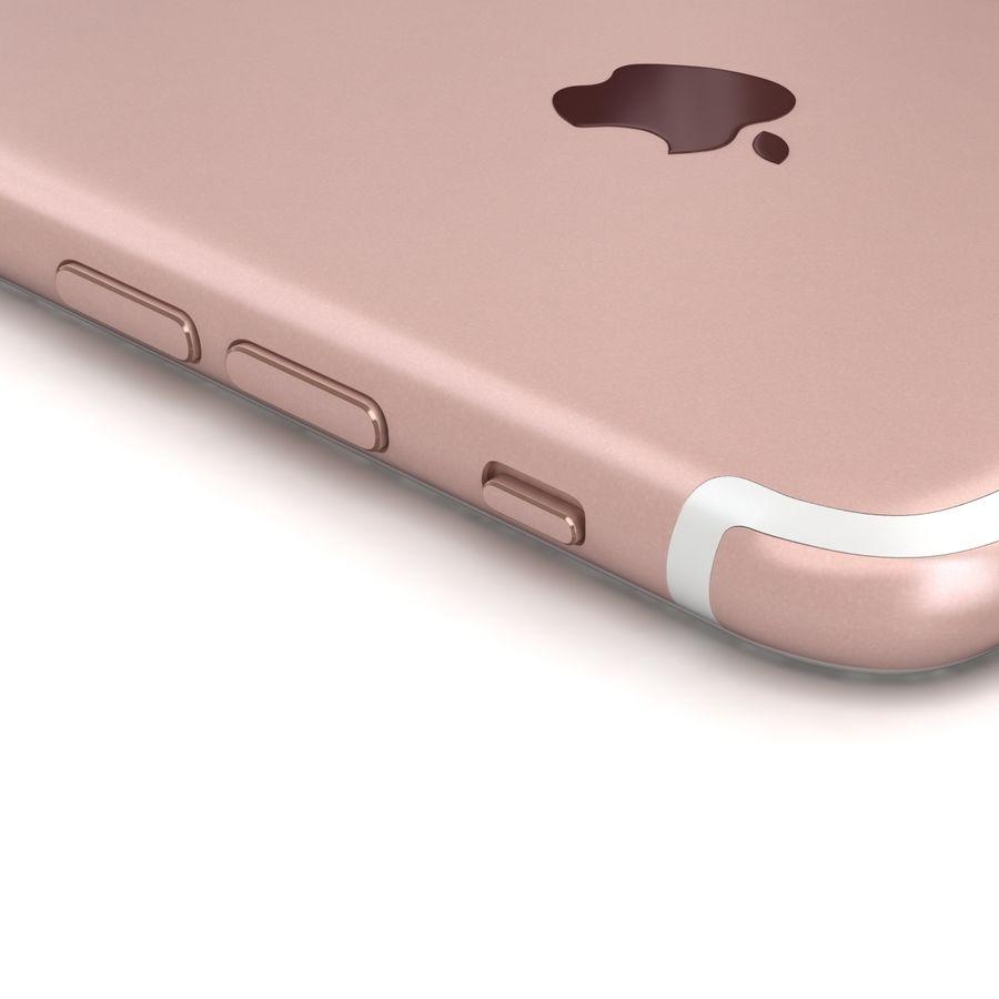 Apple iPhone 7 Gül Altın royalty-free 3d model - Preview no. 15