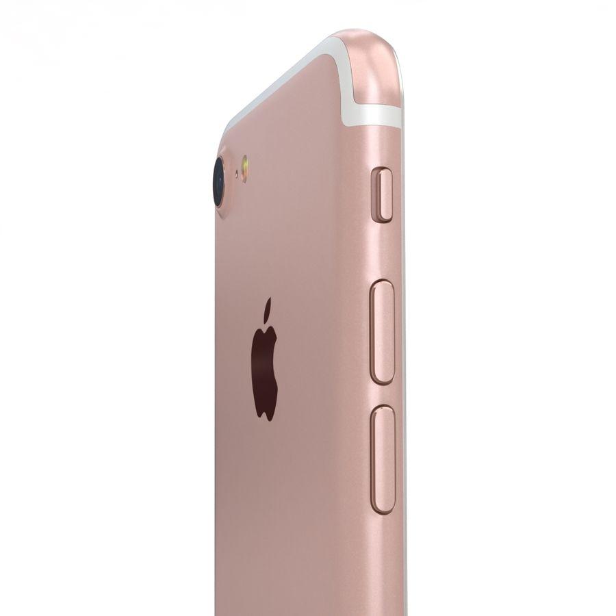 Apple iPhone 7 Gül Altın royalty-free 3d model - Preview no. 19