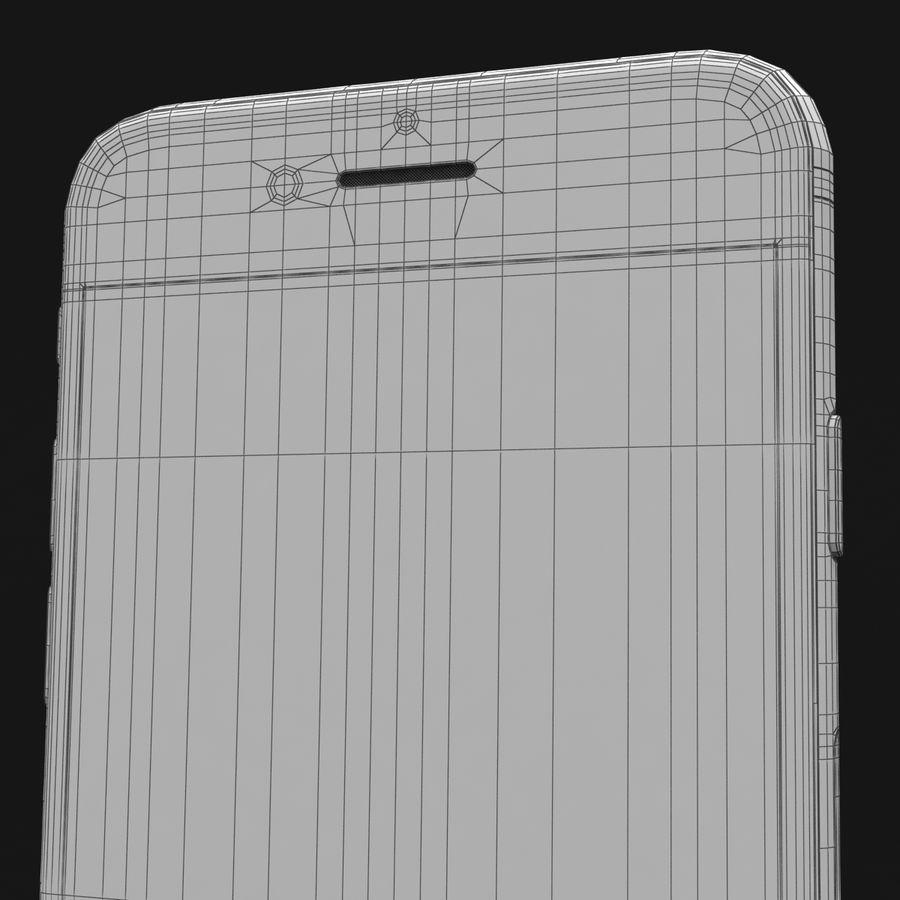 Apple iPhone 7 Gül Altın royalty-free 3d model - Preview no. 43
