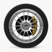AEZ Sydney Disk Car Wheel 3d model