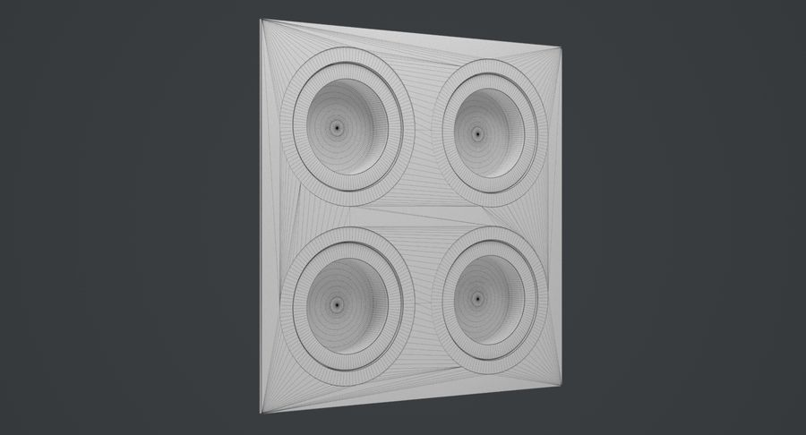 Spotlight A Collection royalty-free 3d model - Preview no. 40