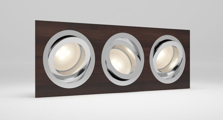 Spotlight A Collection royalty-free 3d model - Preview no. 28