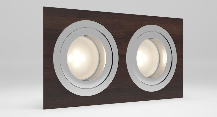 Spotlight A Collection royalty-free 3d model - Preview no. 19