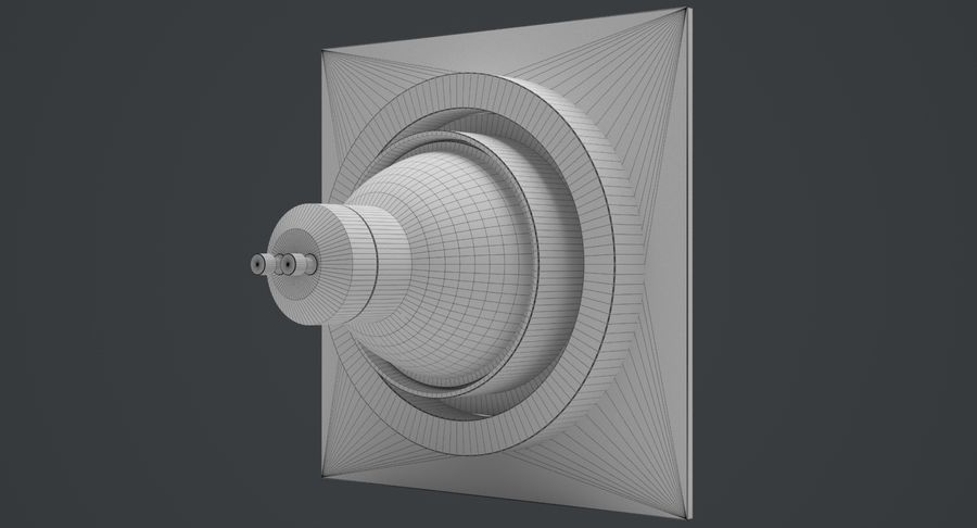 Spotlight A Collection royalty-free 3d model - Preview no. 17
