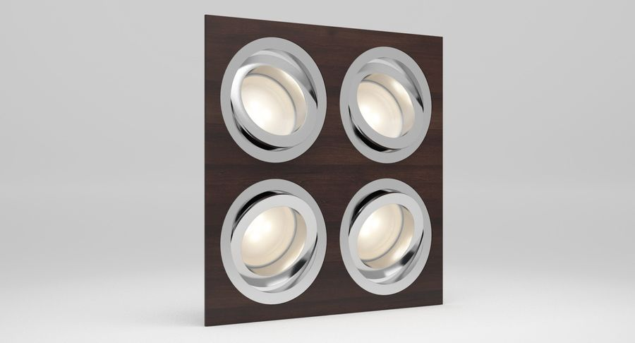 Spotlight A Collection royalty-free 3d model - Preview no. 36