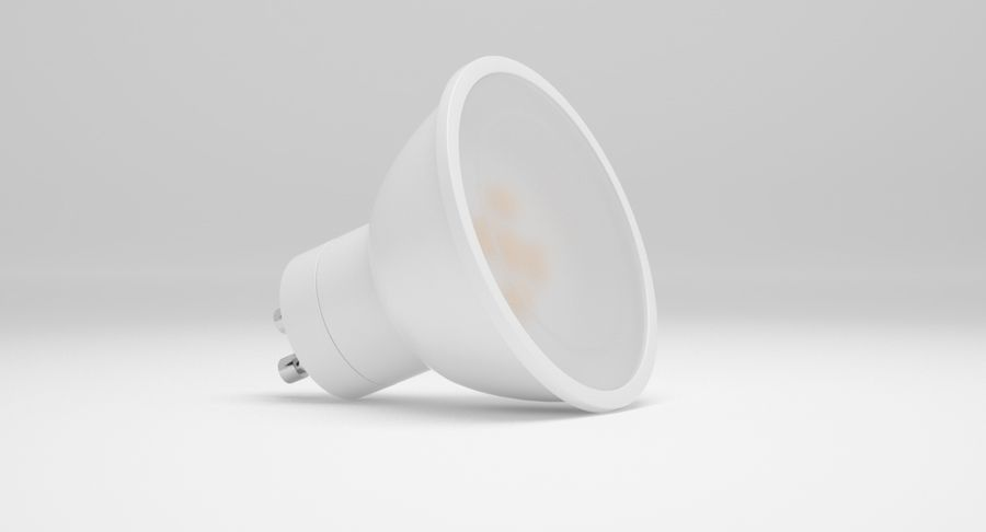 Spotlight A Collection royalty-free 3d model - Preview no. 44