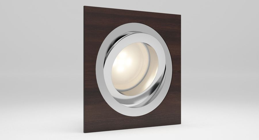 Spotlight A Collection royalty-free 3d model - Preview no. 12