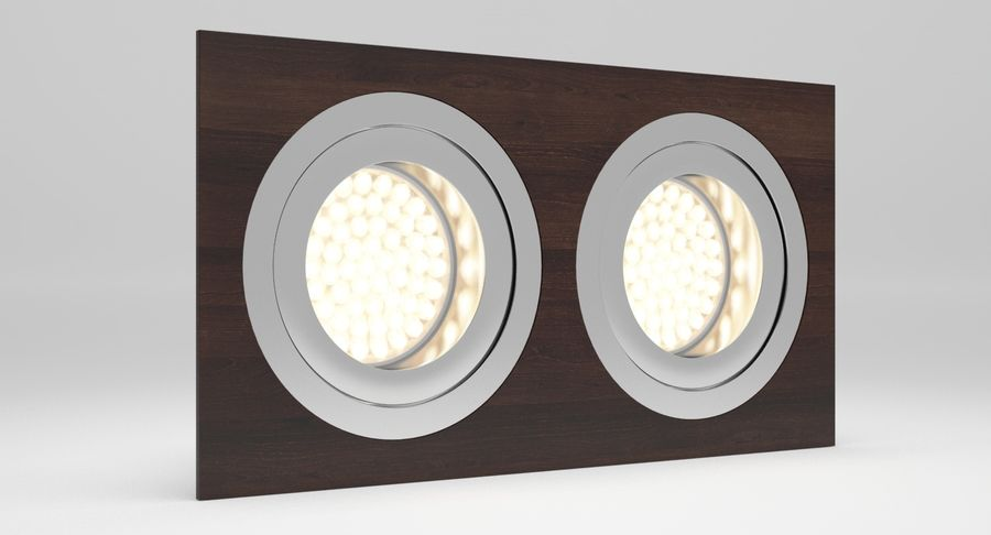 Spotlight A Collection royalty-free 3d model - Preview no. 21