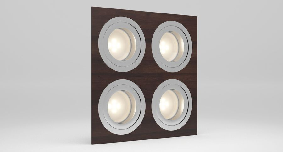 Spotlight A Collection royalty-free 3d model - Preview no. 35