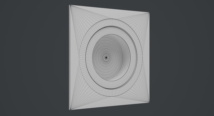 Spotlight A Collection royalty-free 3d model - Preview no. 16