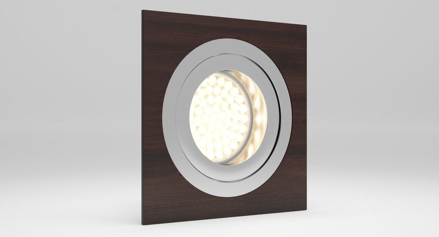 Spotlight A Collection royalty-free 3d model - Preview no. 13