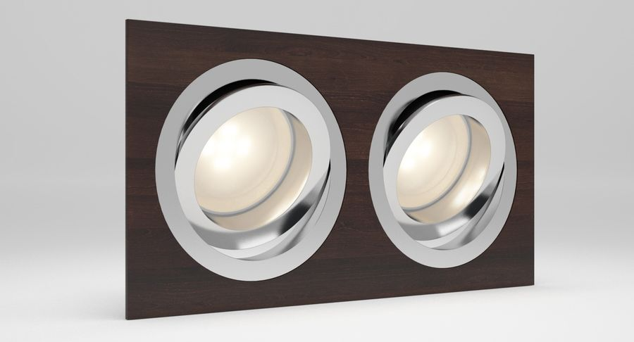 Spotlight A Collection royalty-free 3d model - Preview no. 20