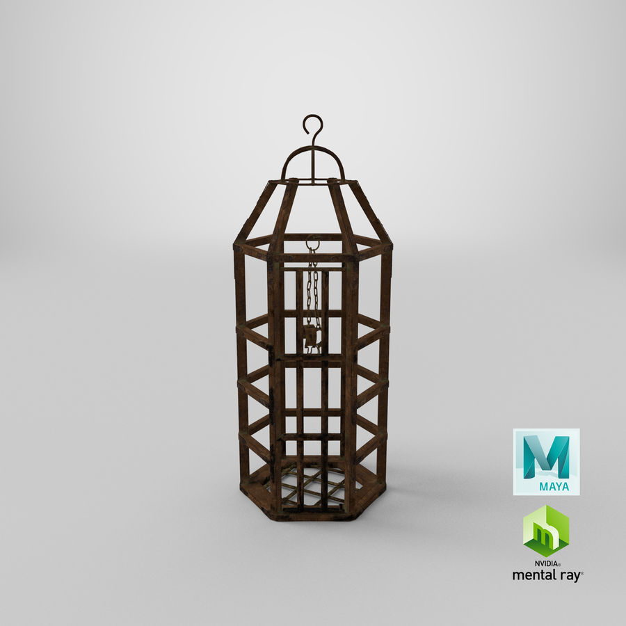 Medeltida bur royalty-free 3d model - Preview no. 21