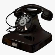 Telephone 1940s 3d model